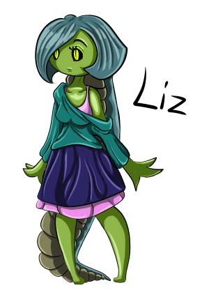 Lizzard girl