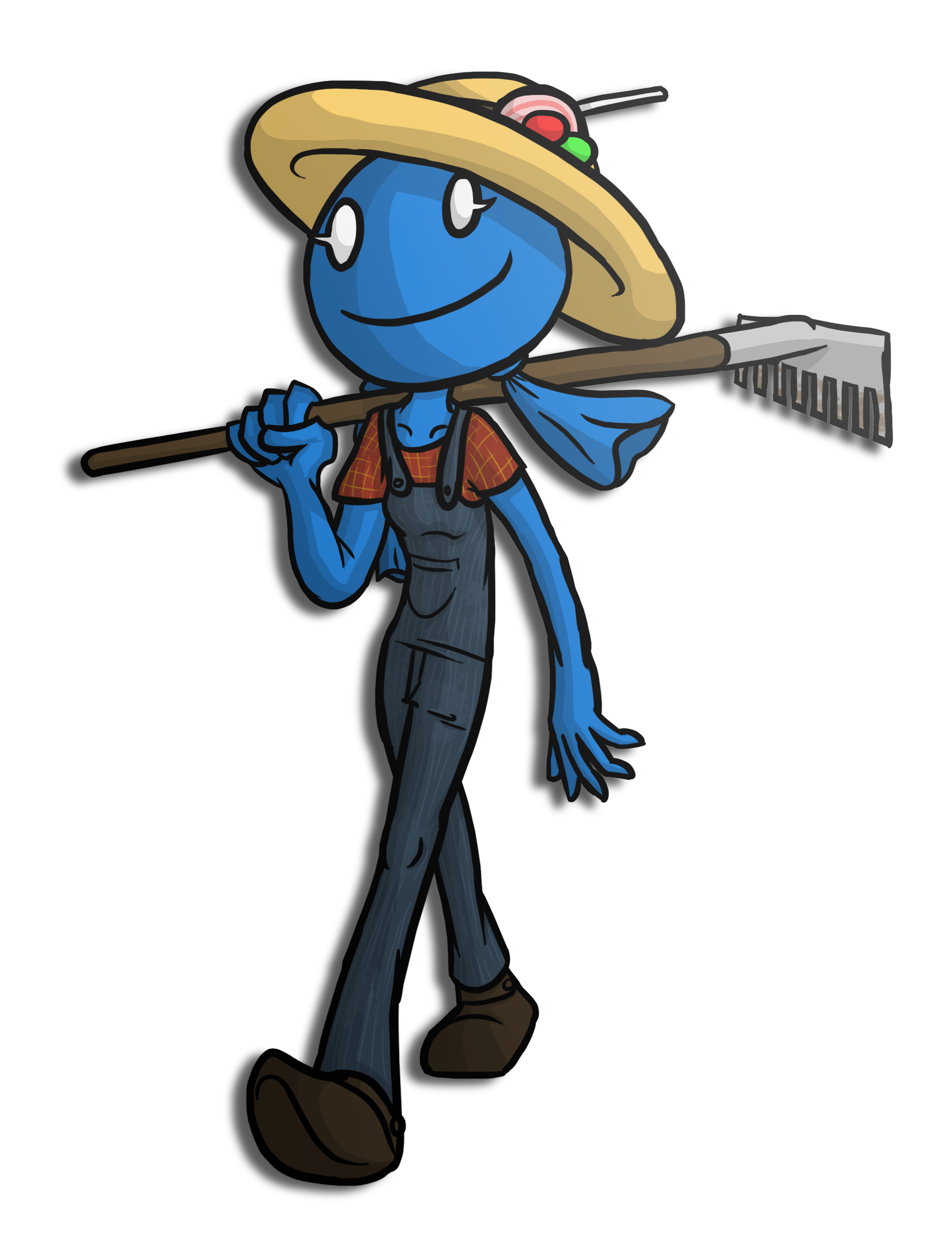 Character Design Challenge - Day 20 - Jolly Rancher