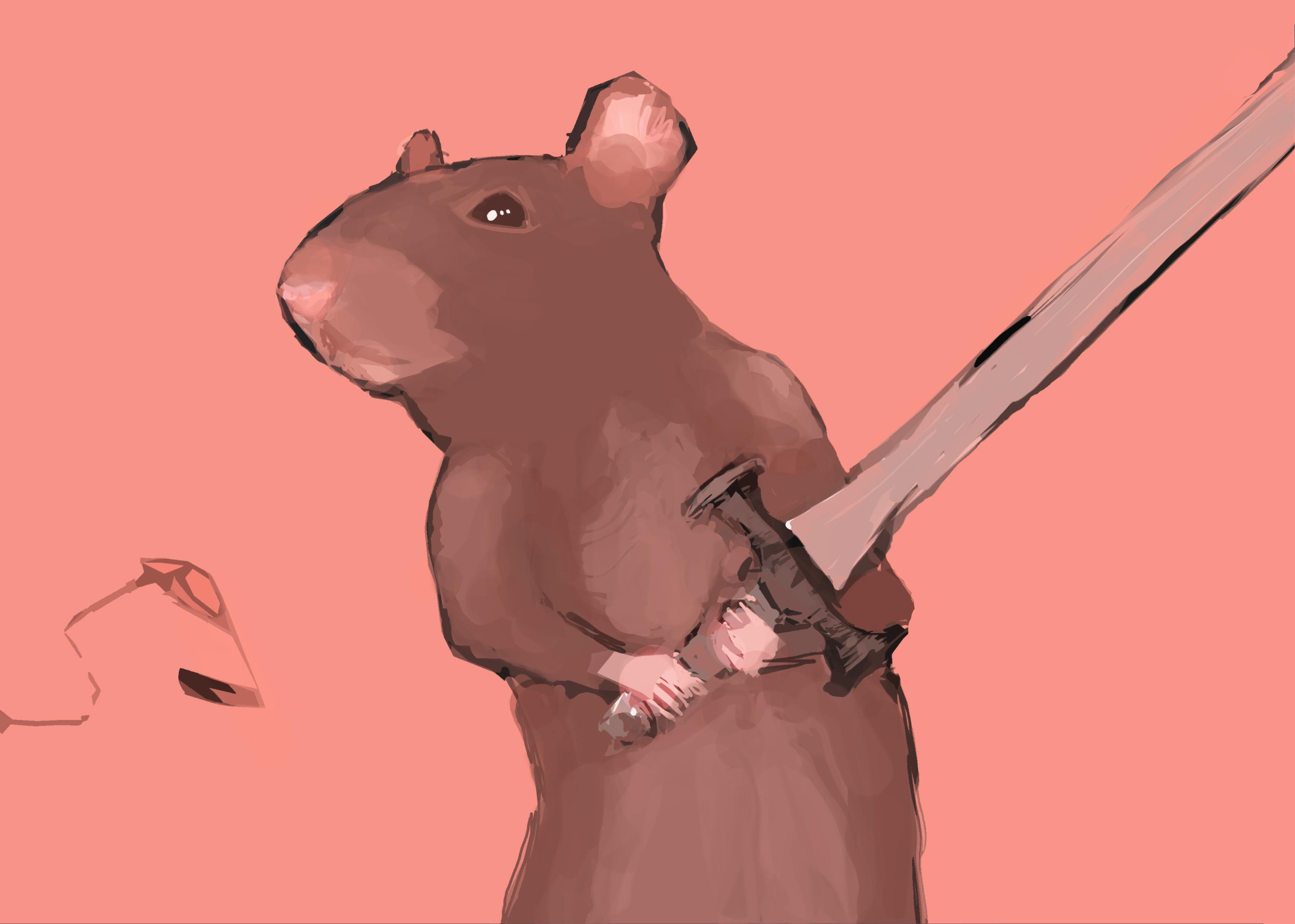 Mouse warrior SKETCH