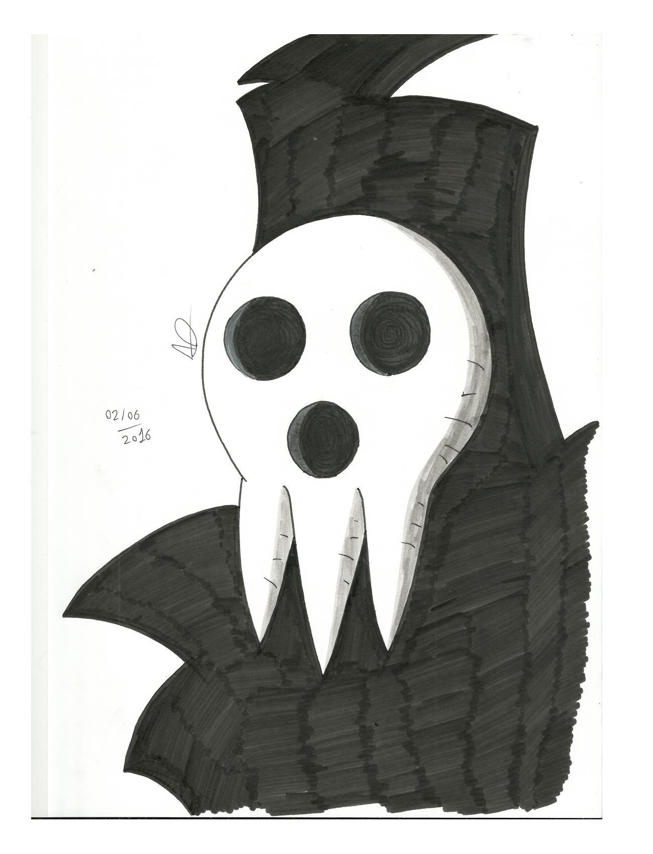 Soul Eater Lord Death (Shinigami Sama)