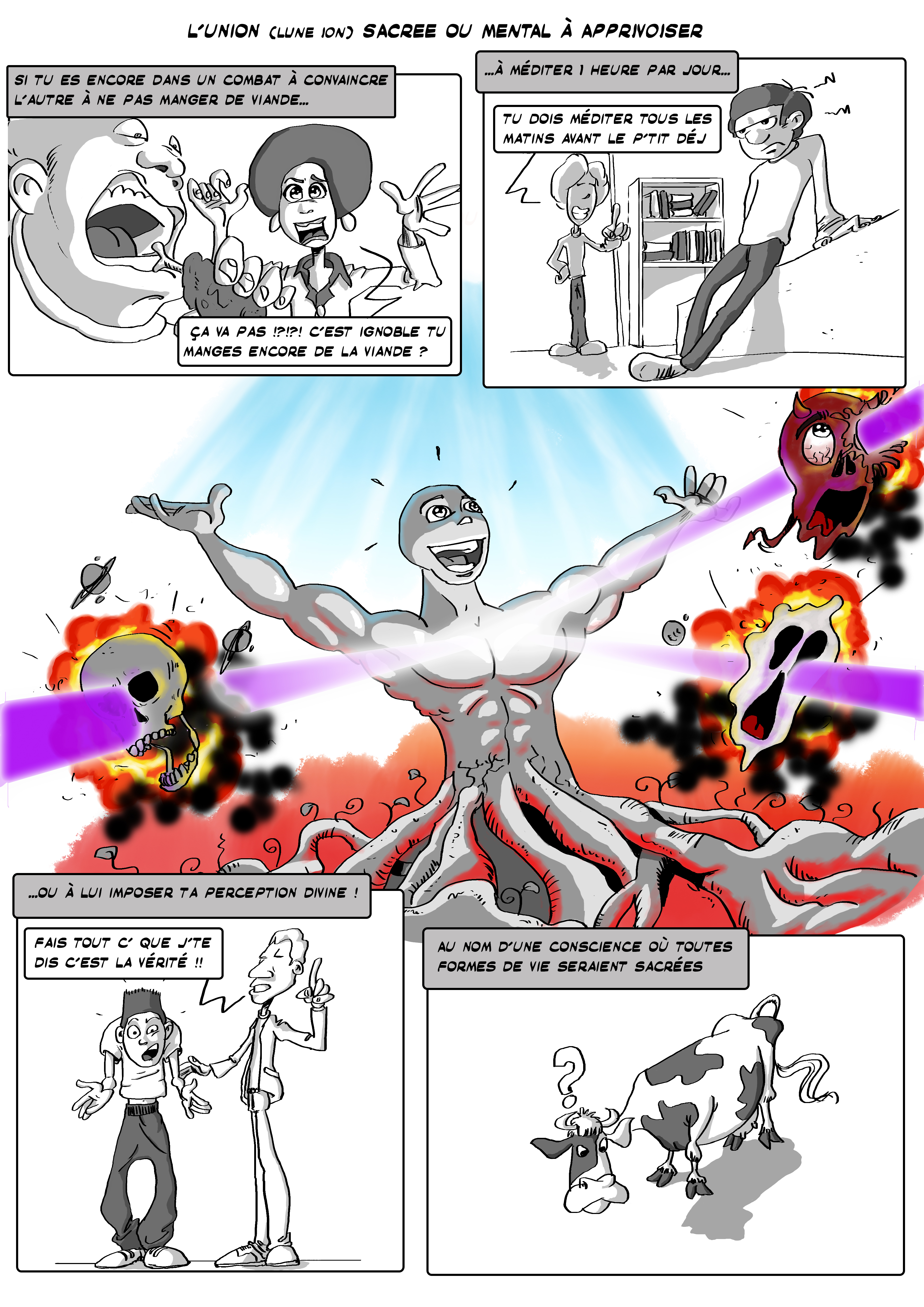 first page comic's