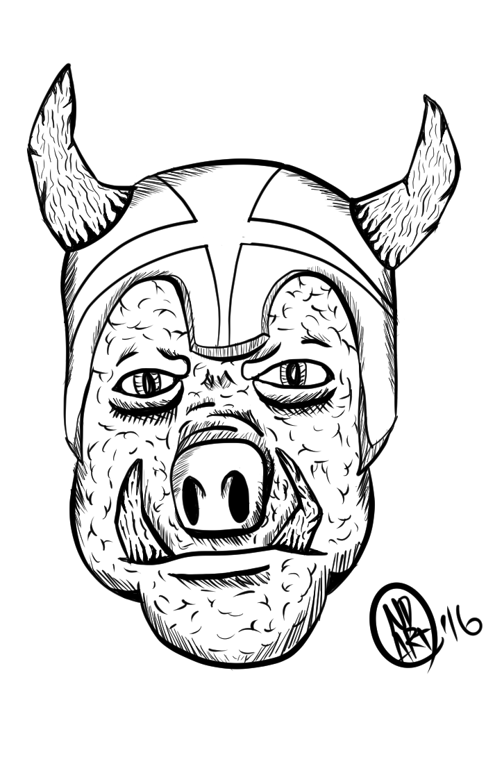 Man Pig Monster
