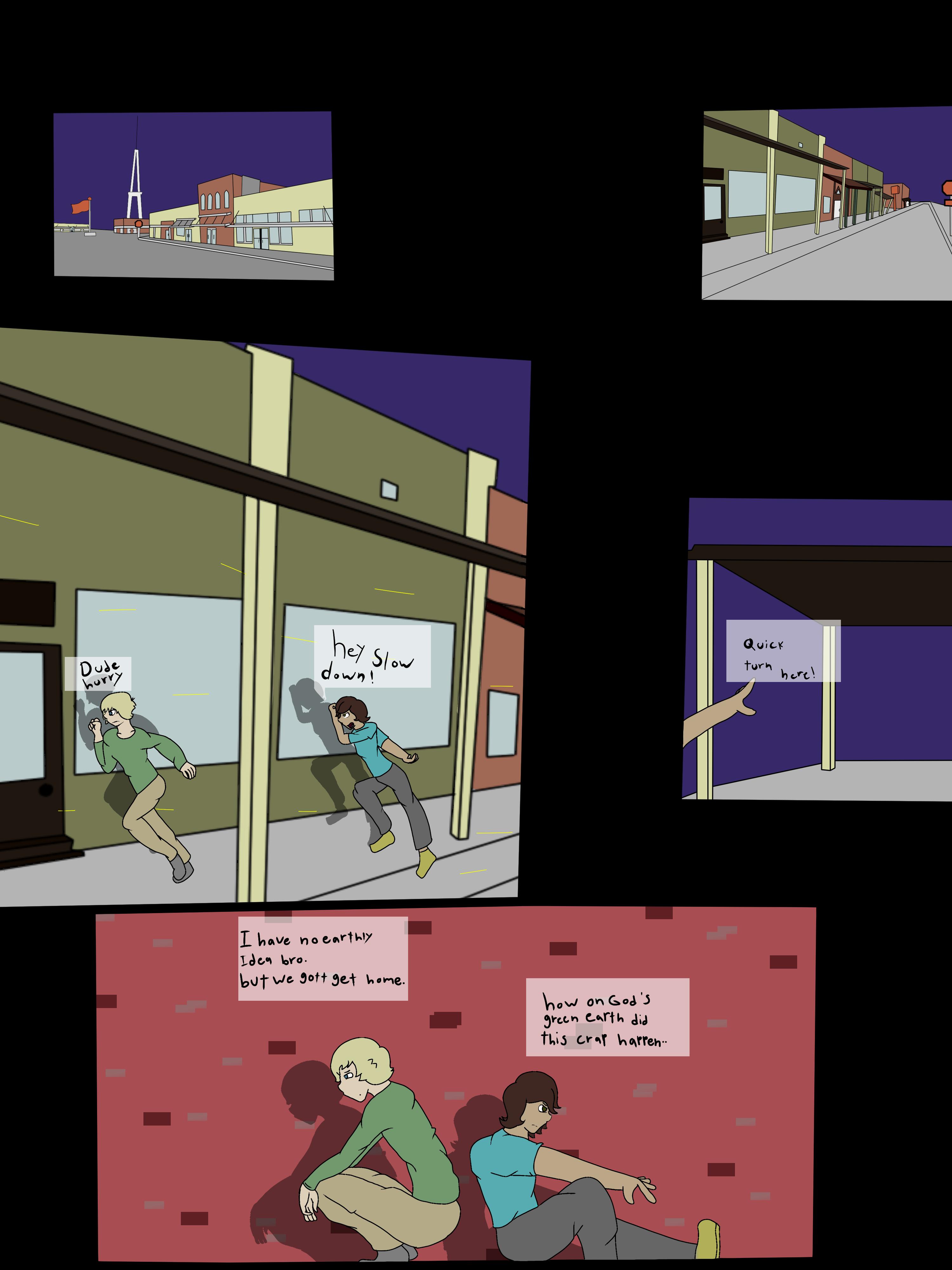 The Futile Comic page1-1