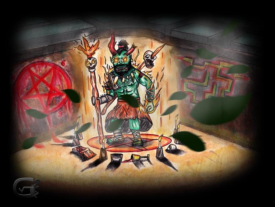 """""""The Orczard"""" Draw With Jazza COTM (MIXNMATCH)"""