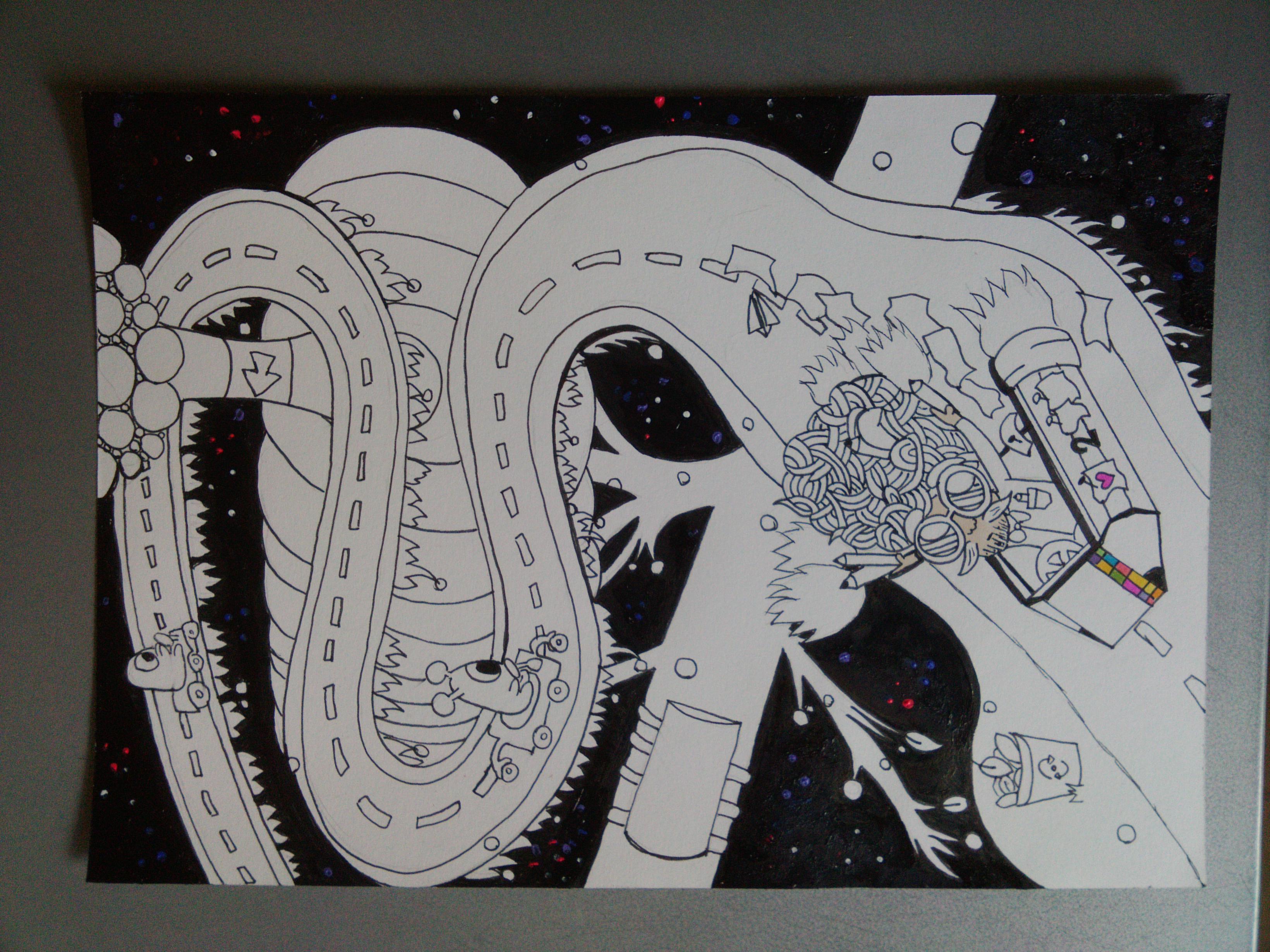 """Work in progress """"Space race"""""""