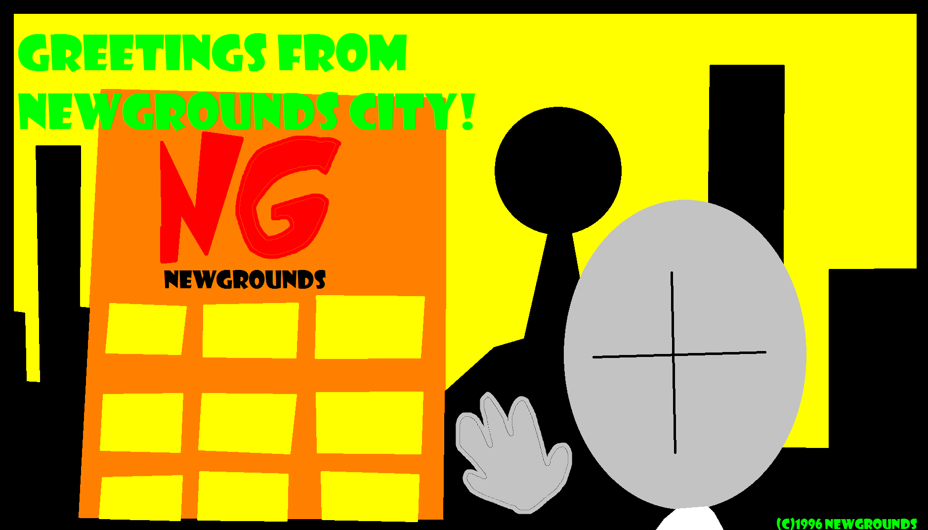 Greetings from Newgrounds City