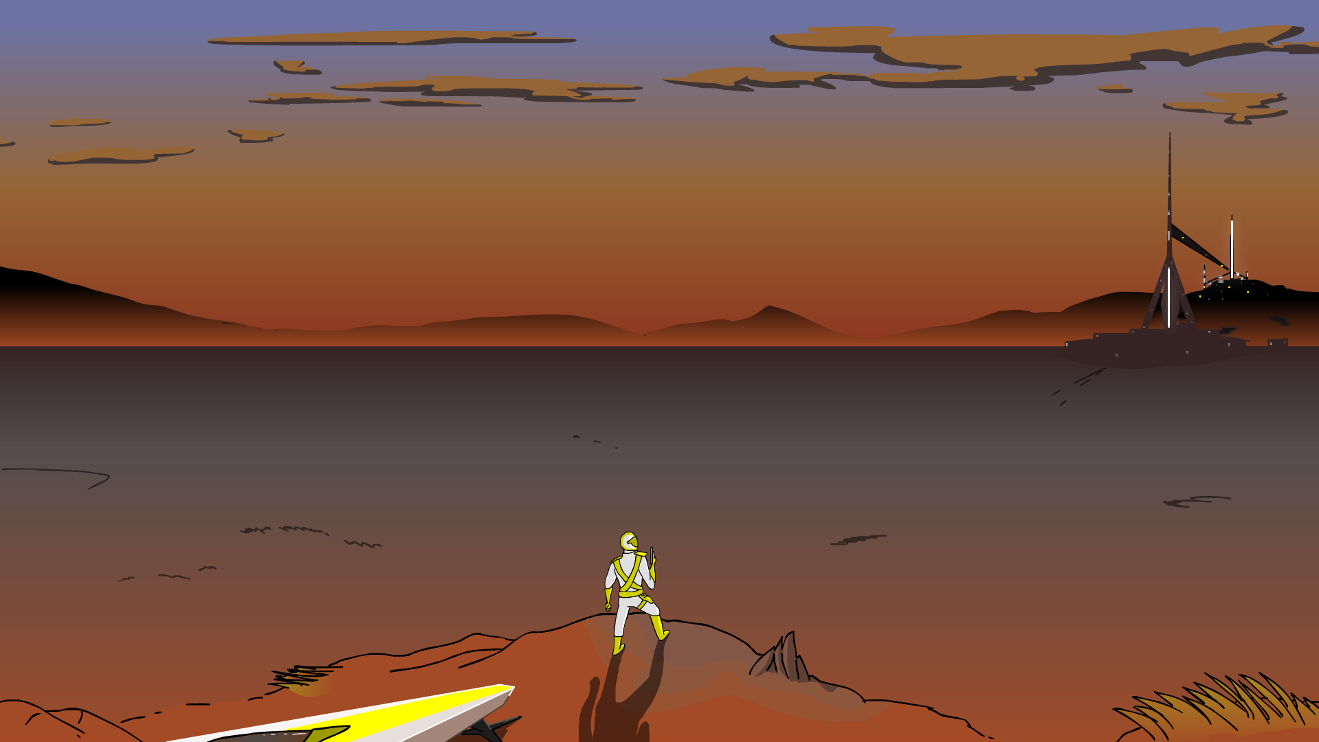Mars in the Distant Future