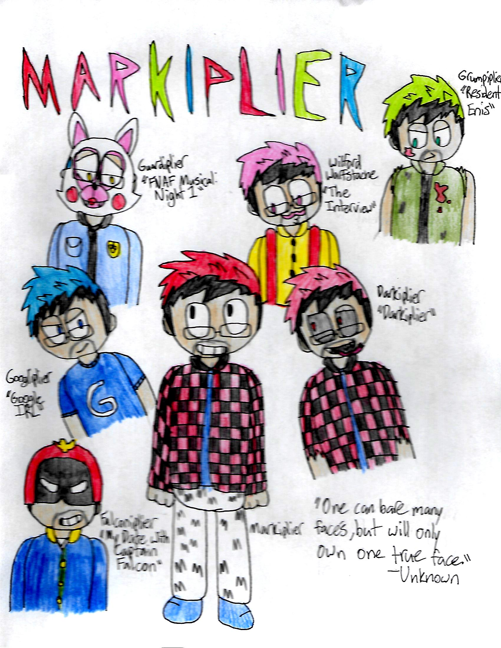 A Hairigram of Markiplier