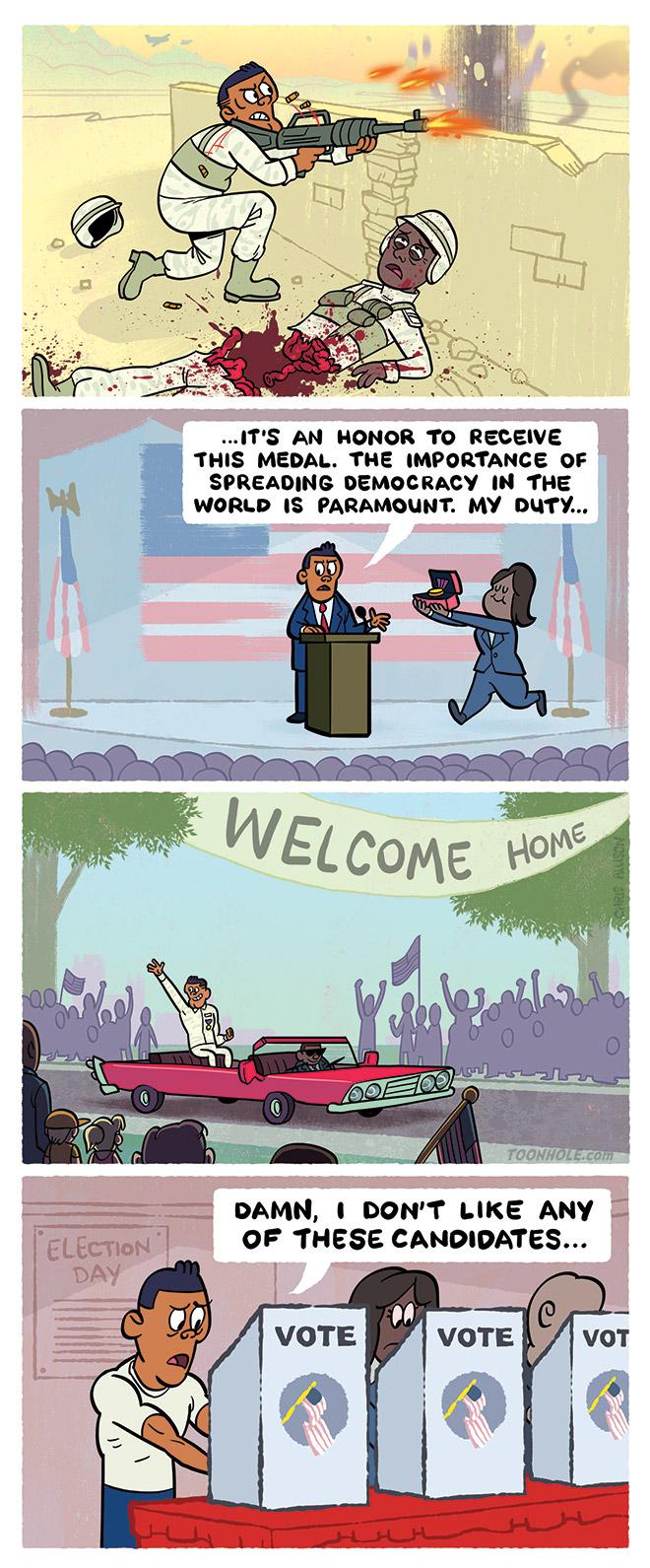 Spreading Democracy