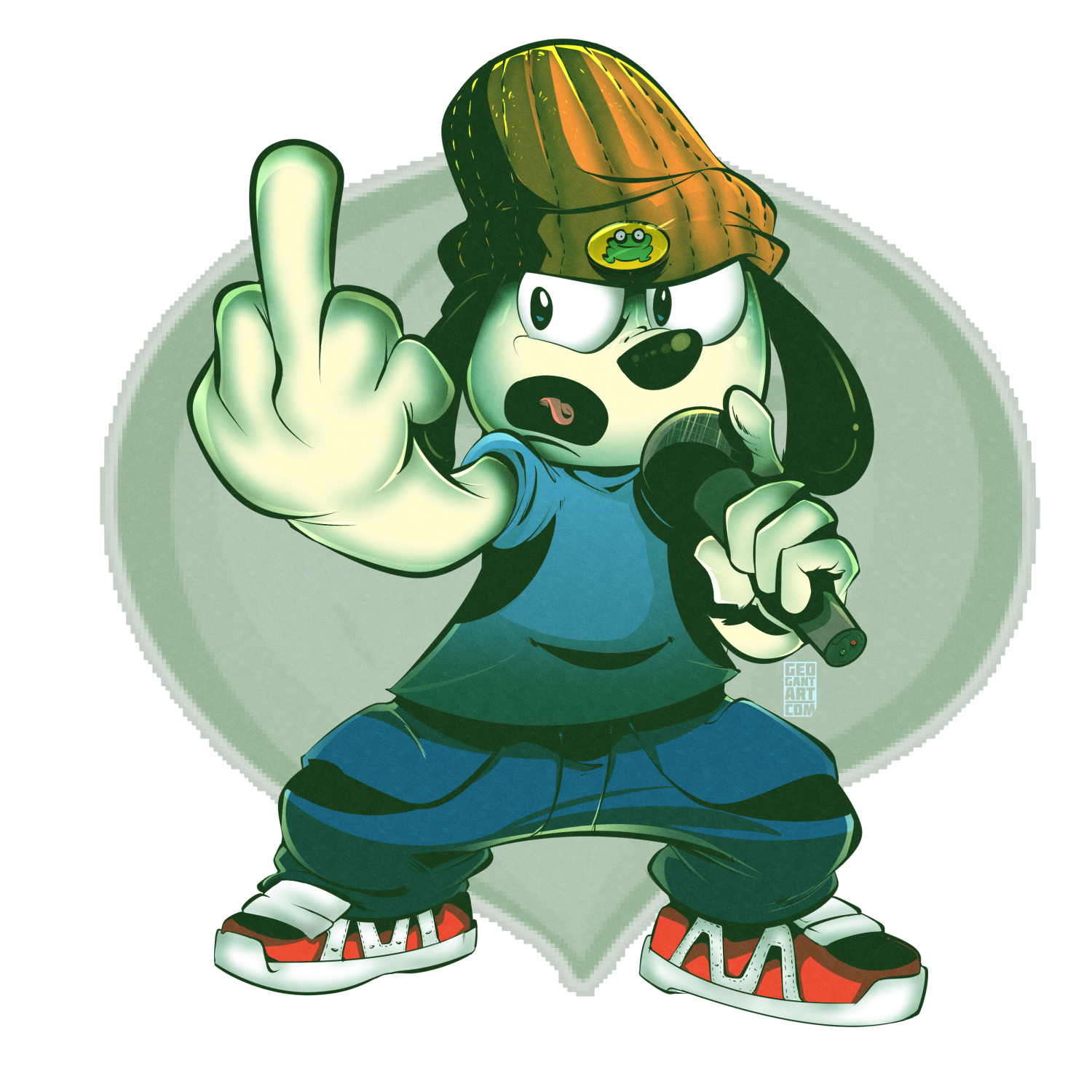 parappa the rapper by geogant on newgrounds