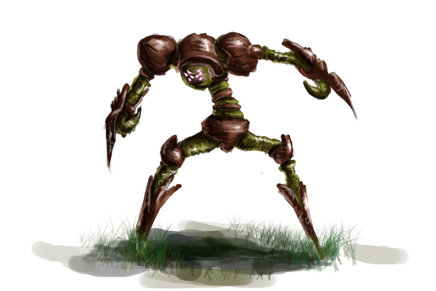 plant monster concept