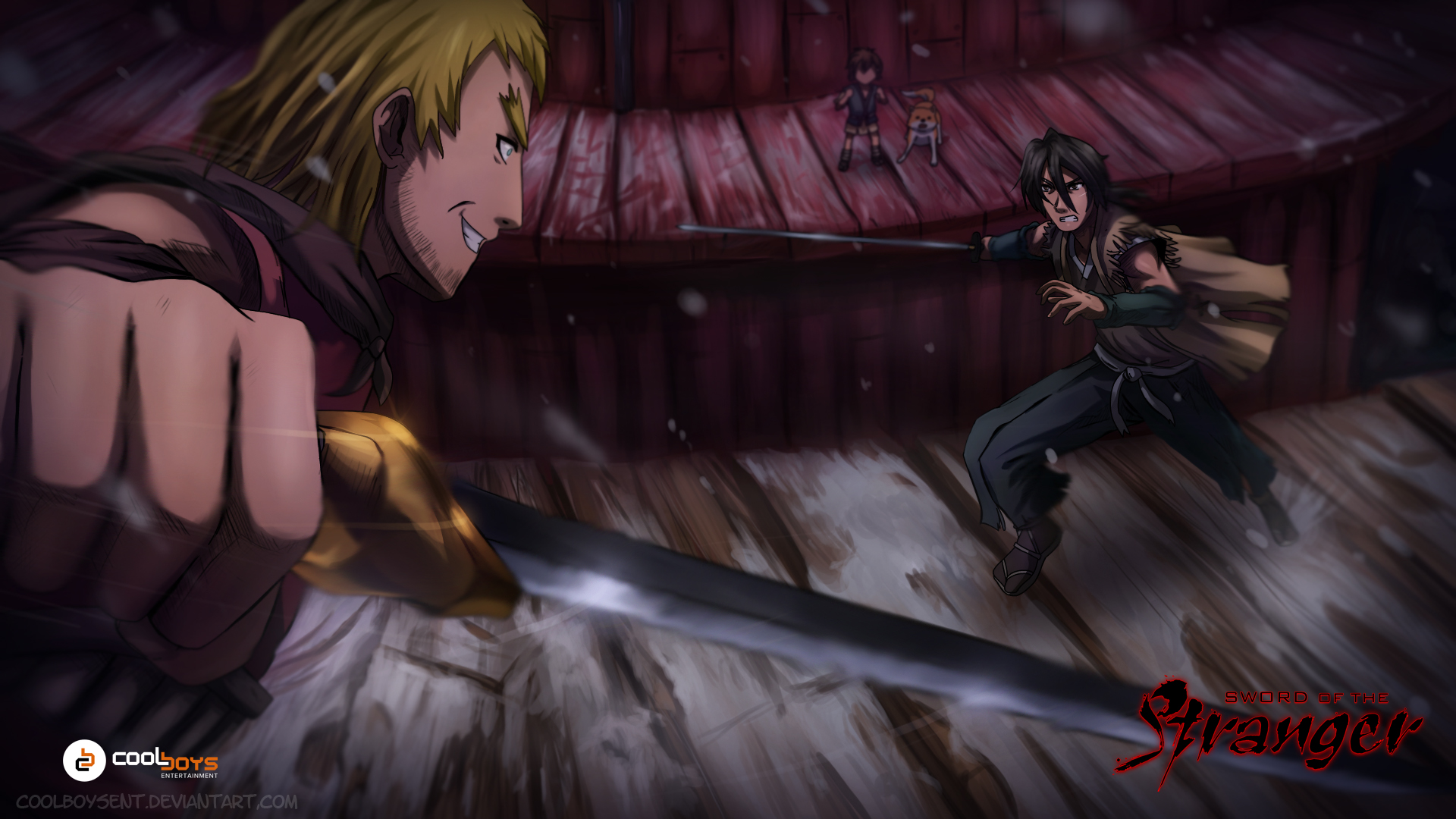 sword of the stranger fan art