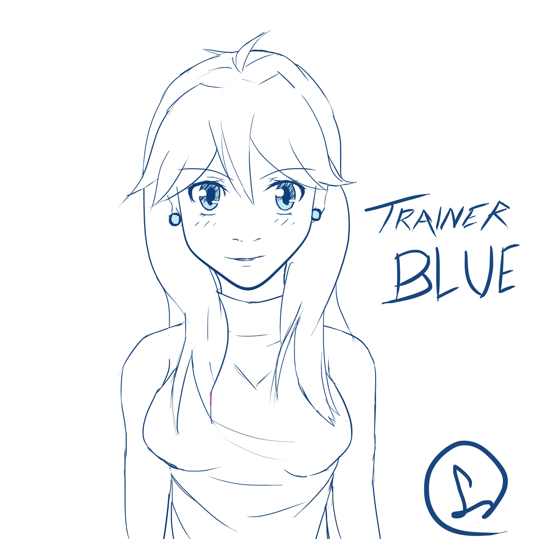 Trainer Blue