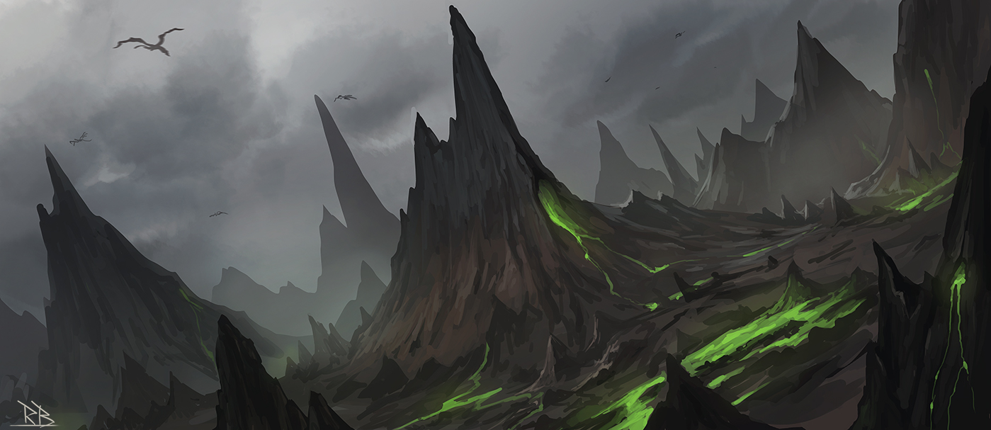 Dragon Land Speedpaint