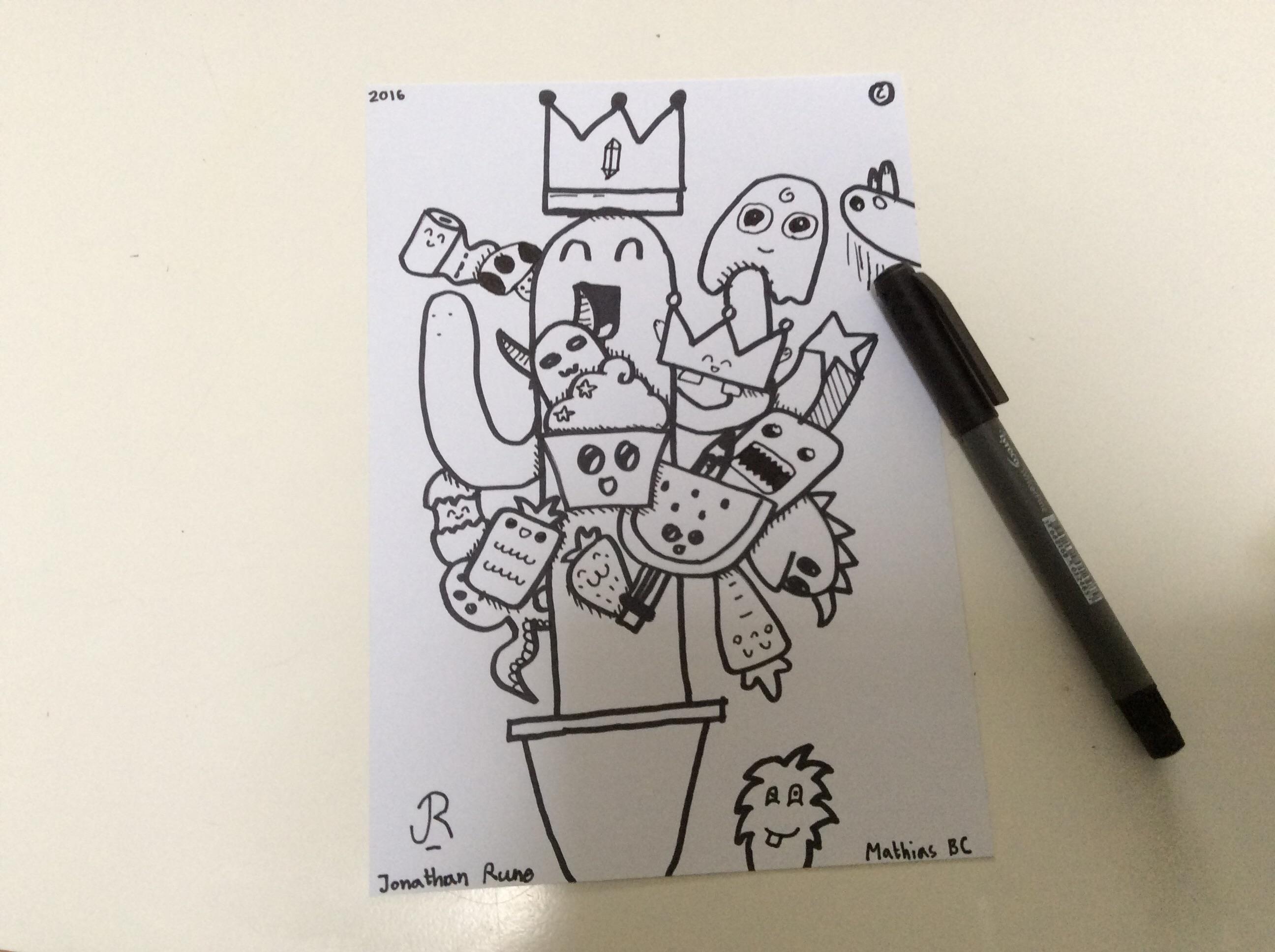 Doodle by MathJona (Mathias BC and JR