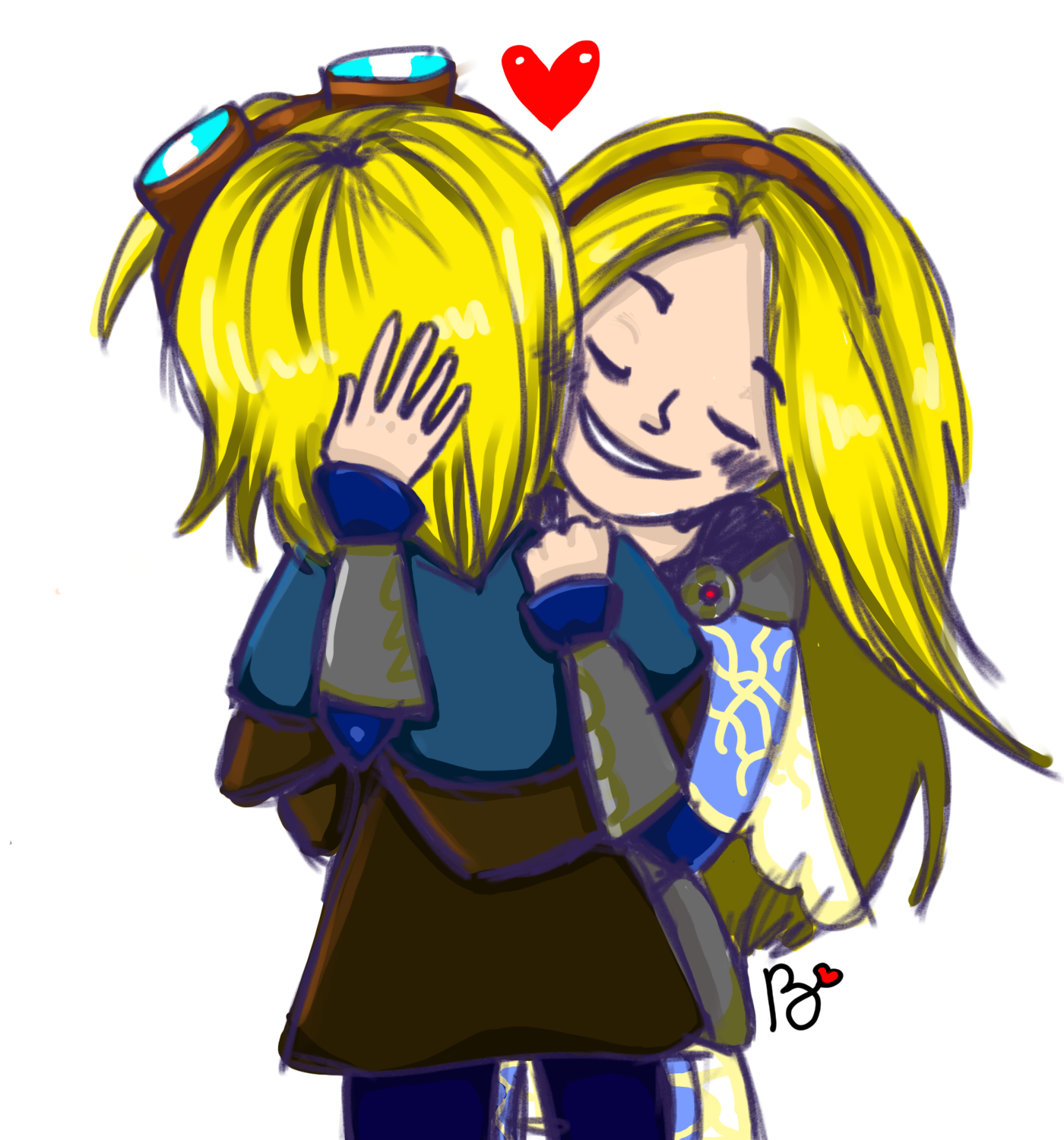 Lux And Ezreal By Bribou99 On Newgrounds