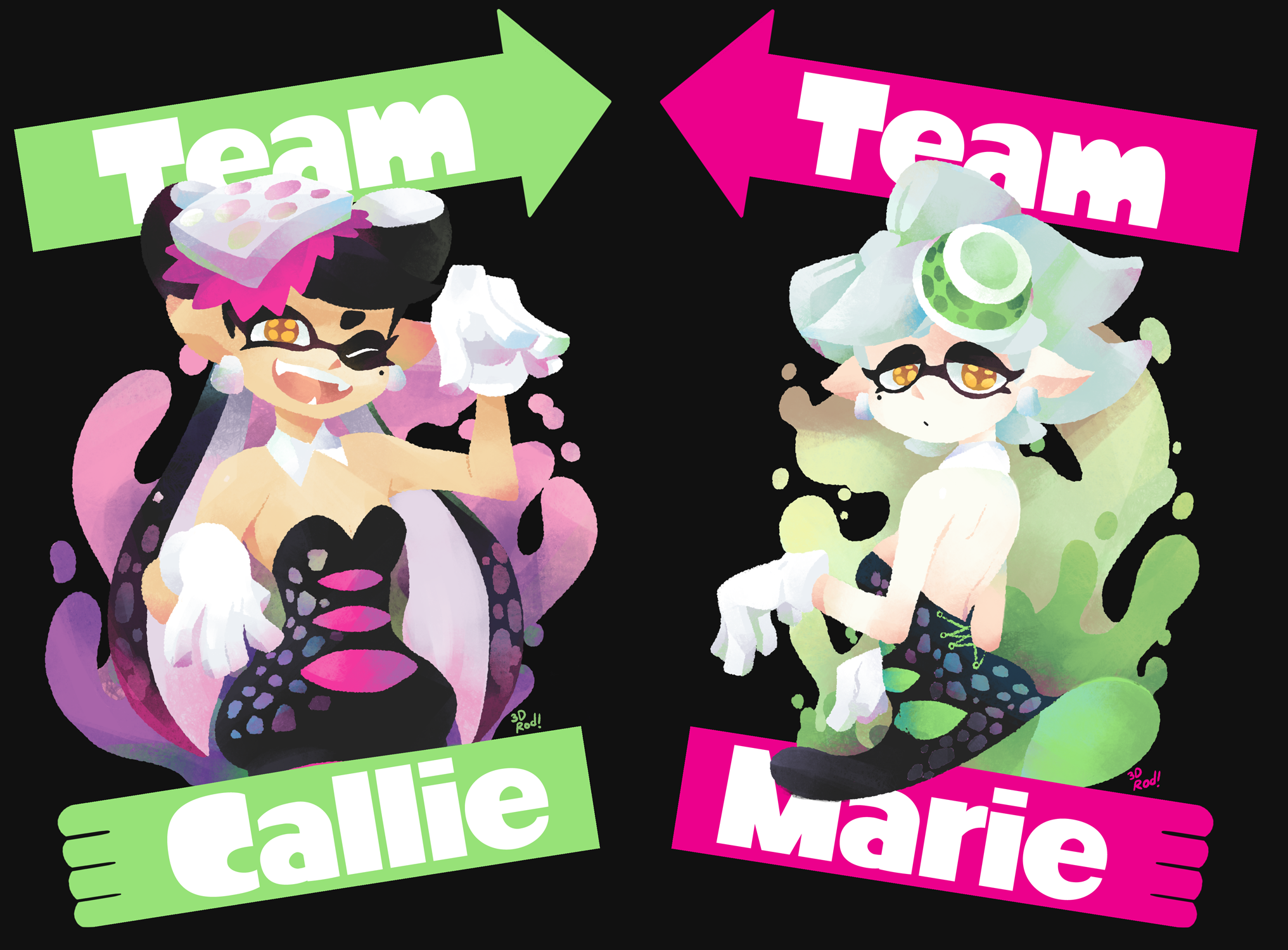 Final Splatfest: Callie vs Marie