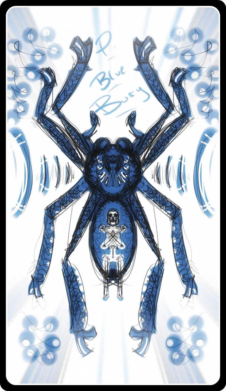 """Poecilotheria sp """"Blue Bury"""""""