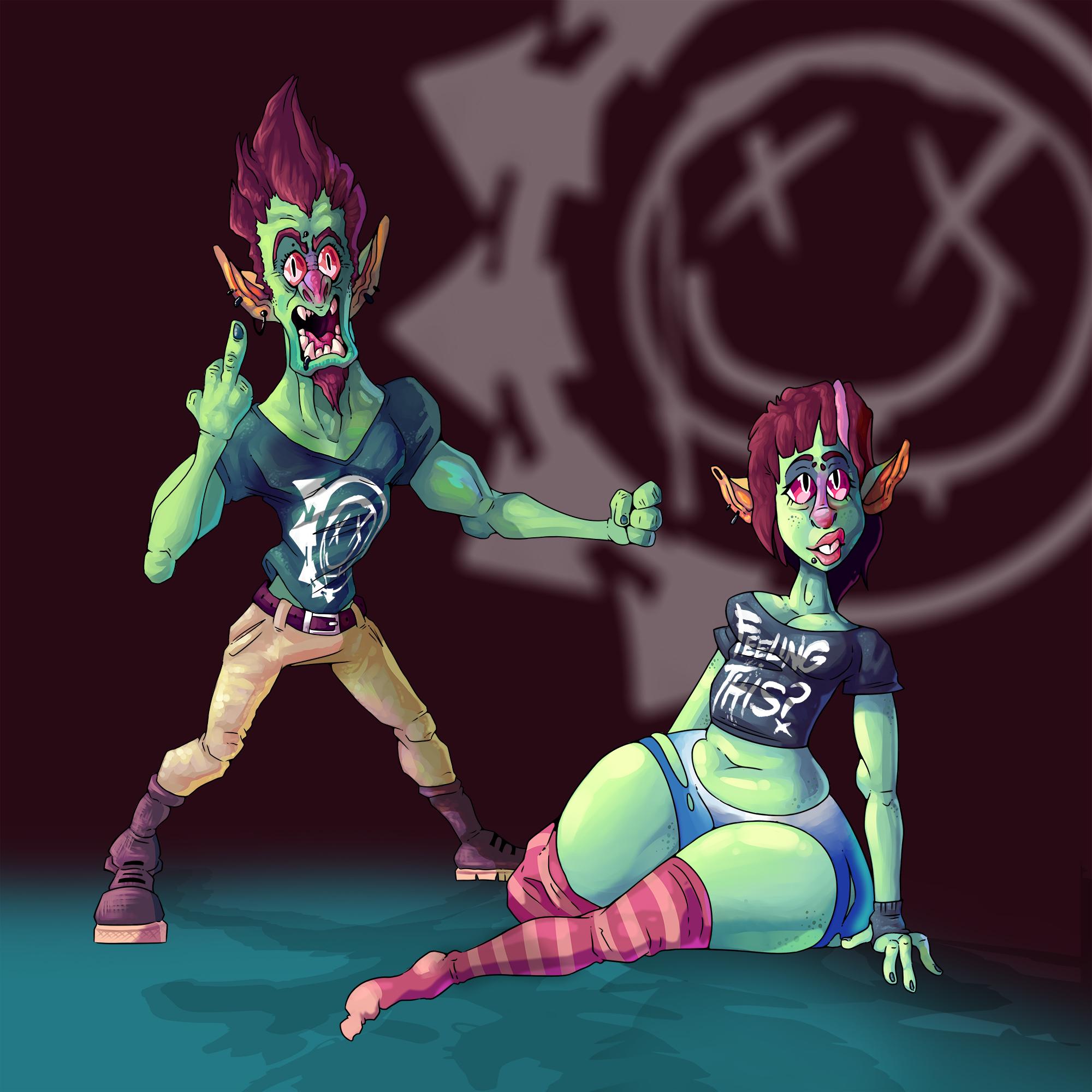 Blink 182 Goblins