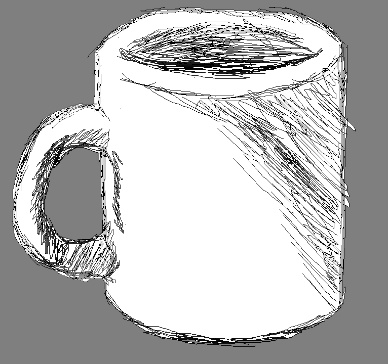 A CUP............................................................................IT'S A CUP.........