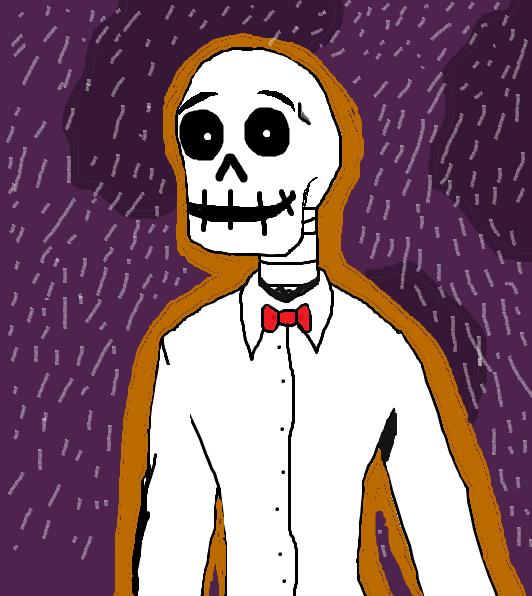 Tucker the skeleton