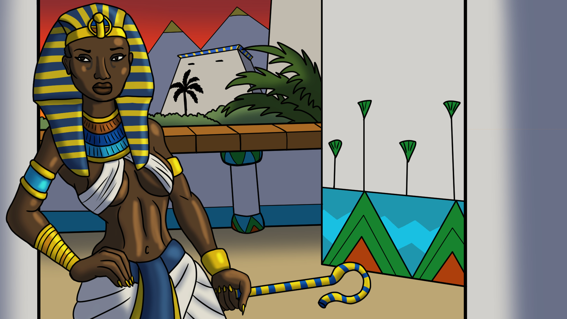 Hatshepsut for Civilization 6