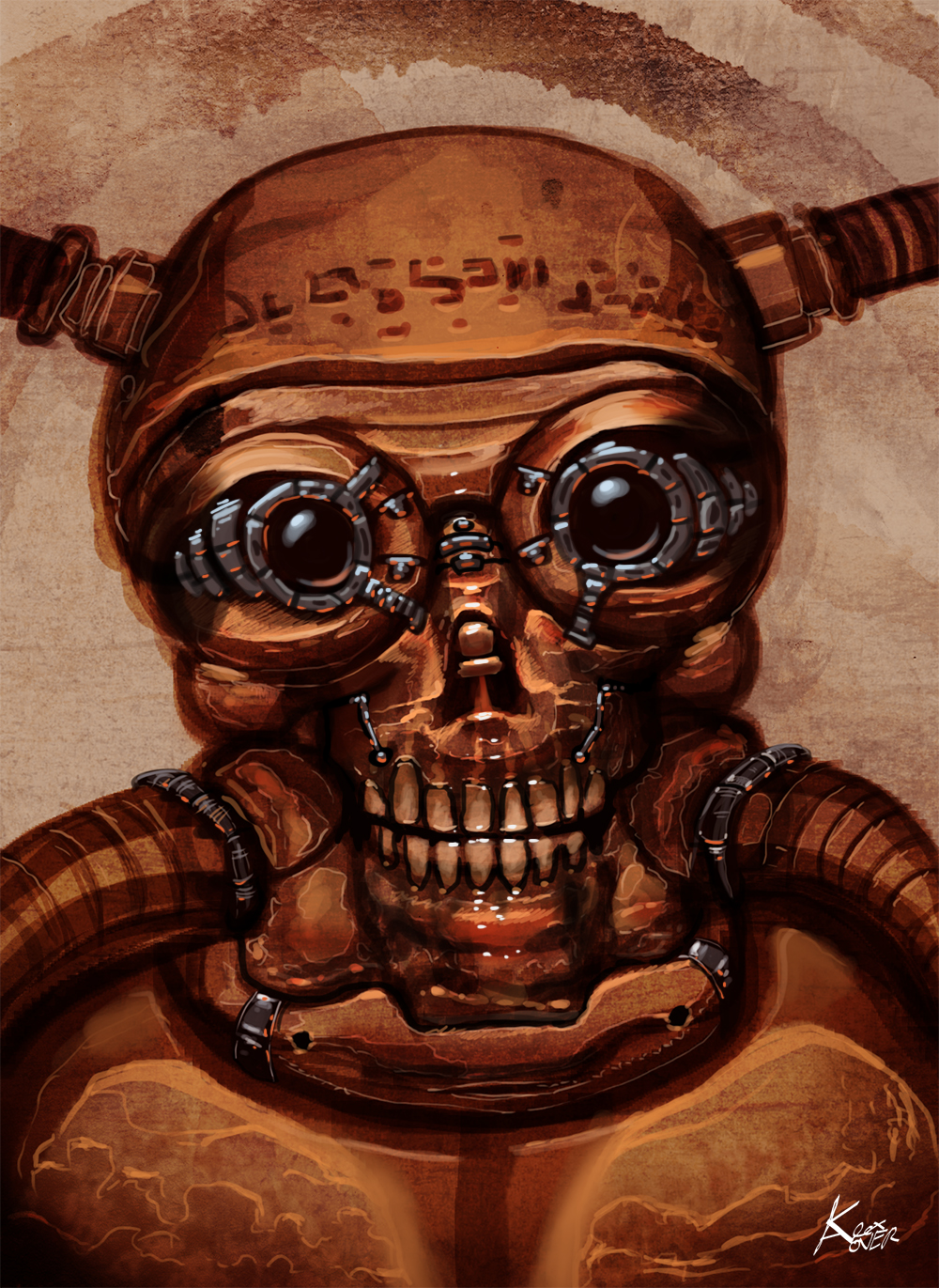 Ancient cyborg