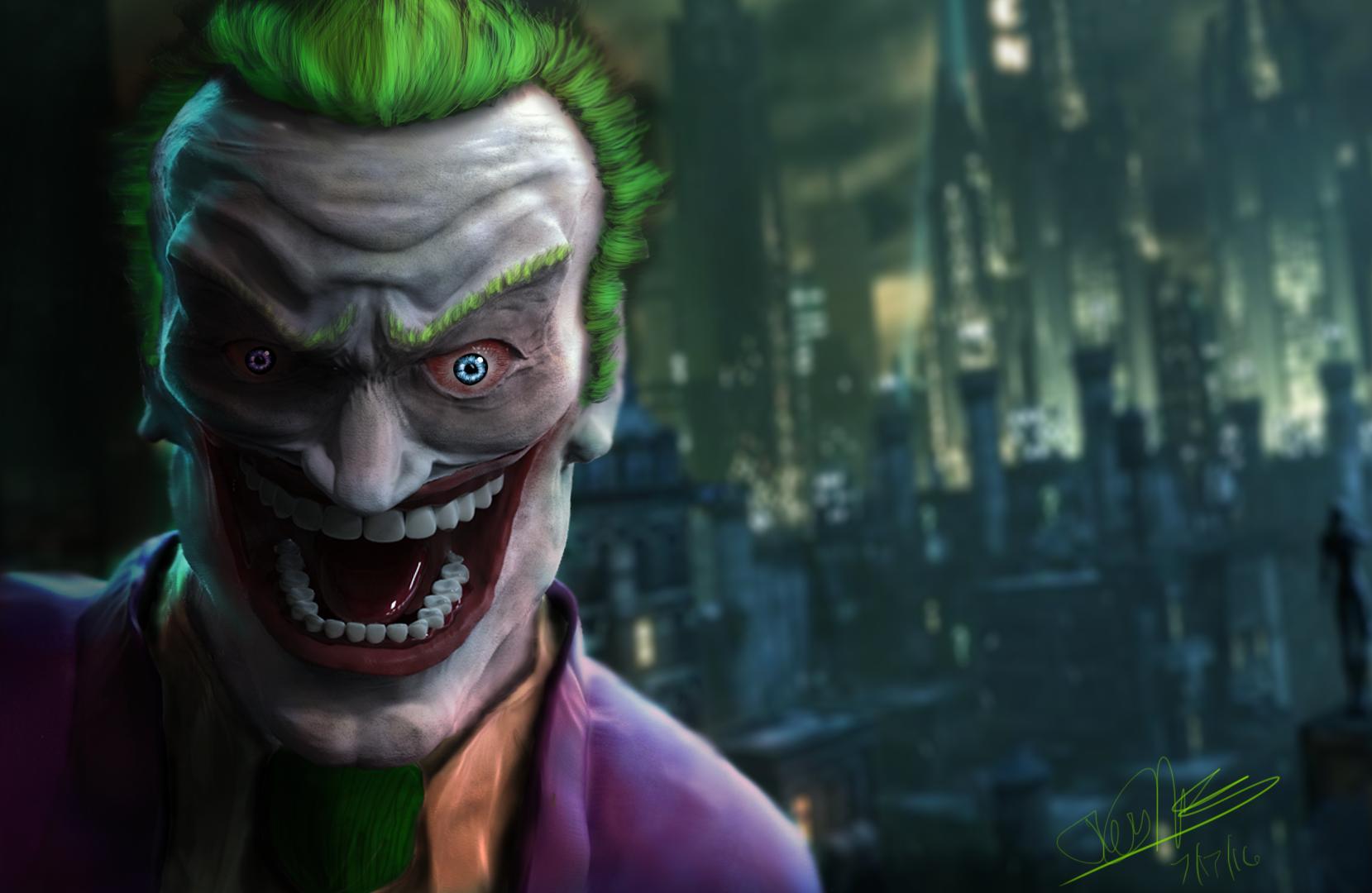 Joker! HAhaHAhaAhahaha