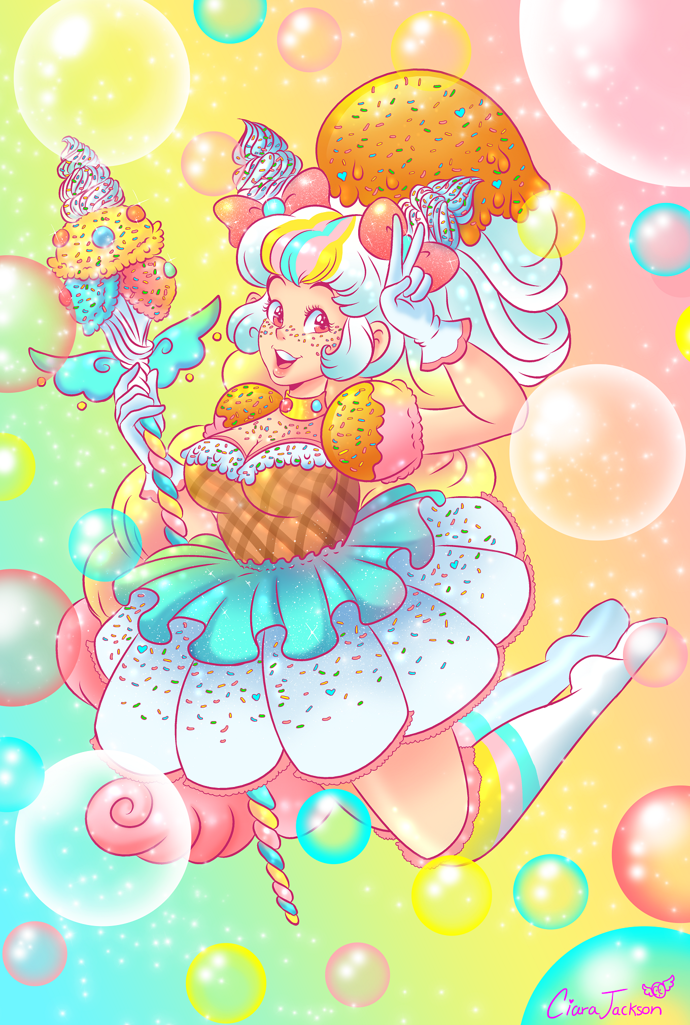 Ice Cream Magical Girl