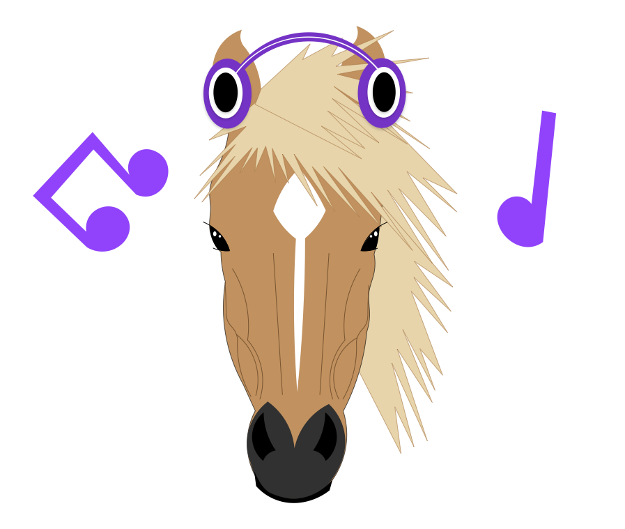The Horse With Headphones