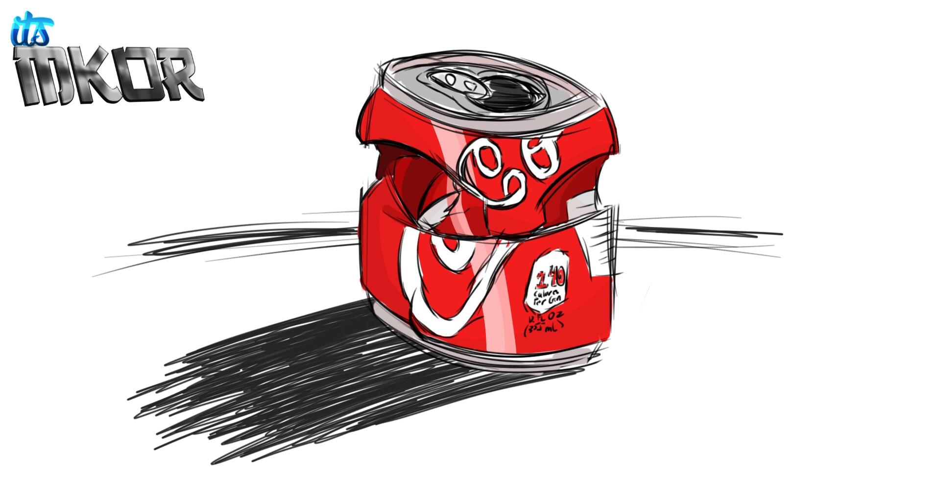 Coca Cola Can [Sketch] - 9/26/15
