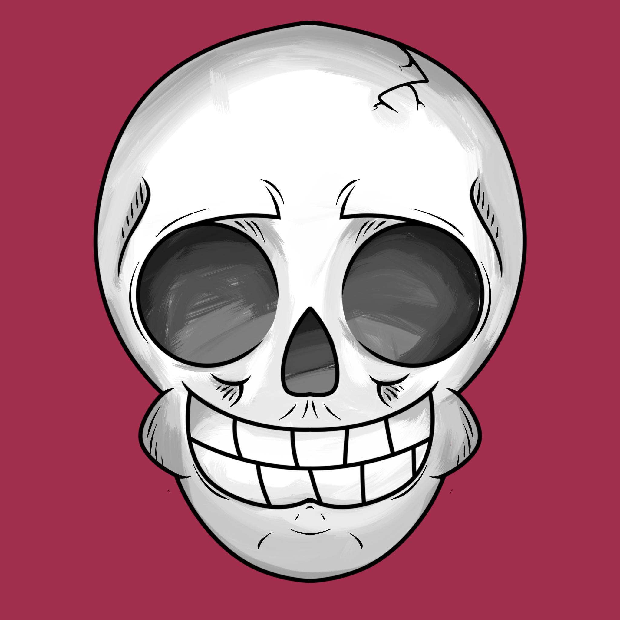 Skull [Drawing] - 3/4/16