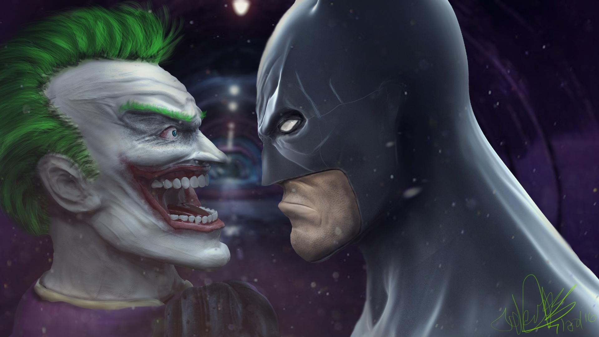Joker VS Batman!