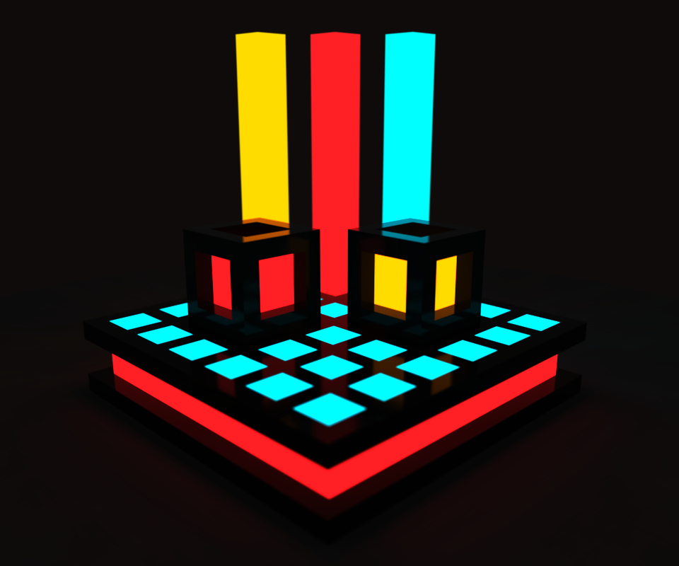 Magicavoxel lighting test