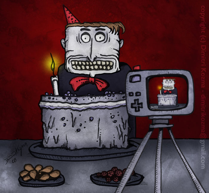 Happy Birthday - Painting