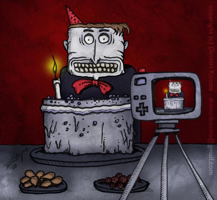 Happy Birthday - Painting