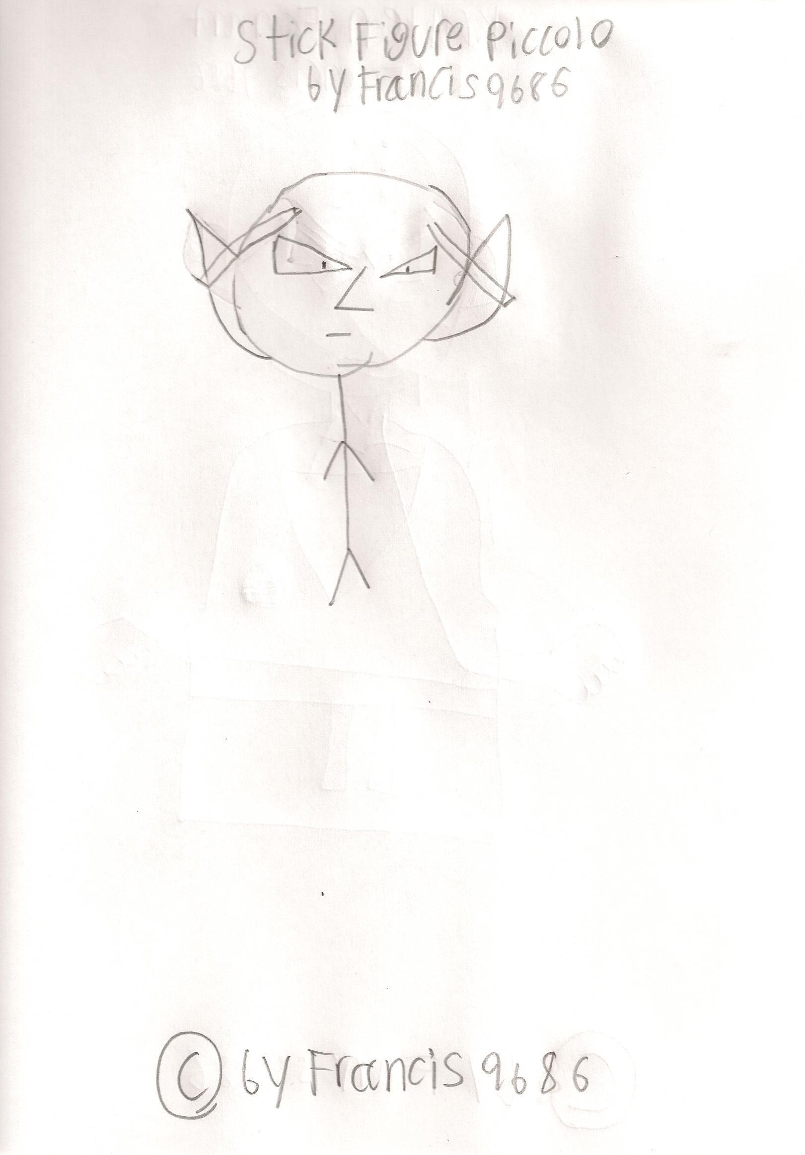 Stick Figure Piccolo