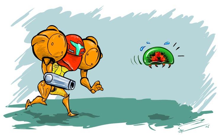 Run Metroid Run