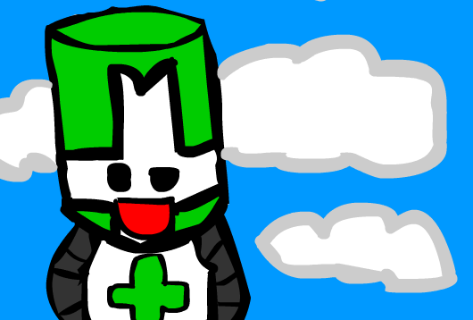 The Green Castle Crasher Yay
