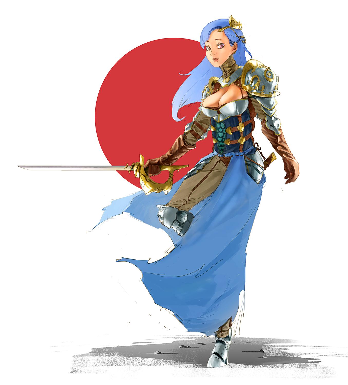 generic fantasy character