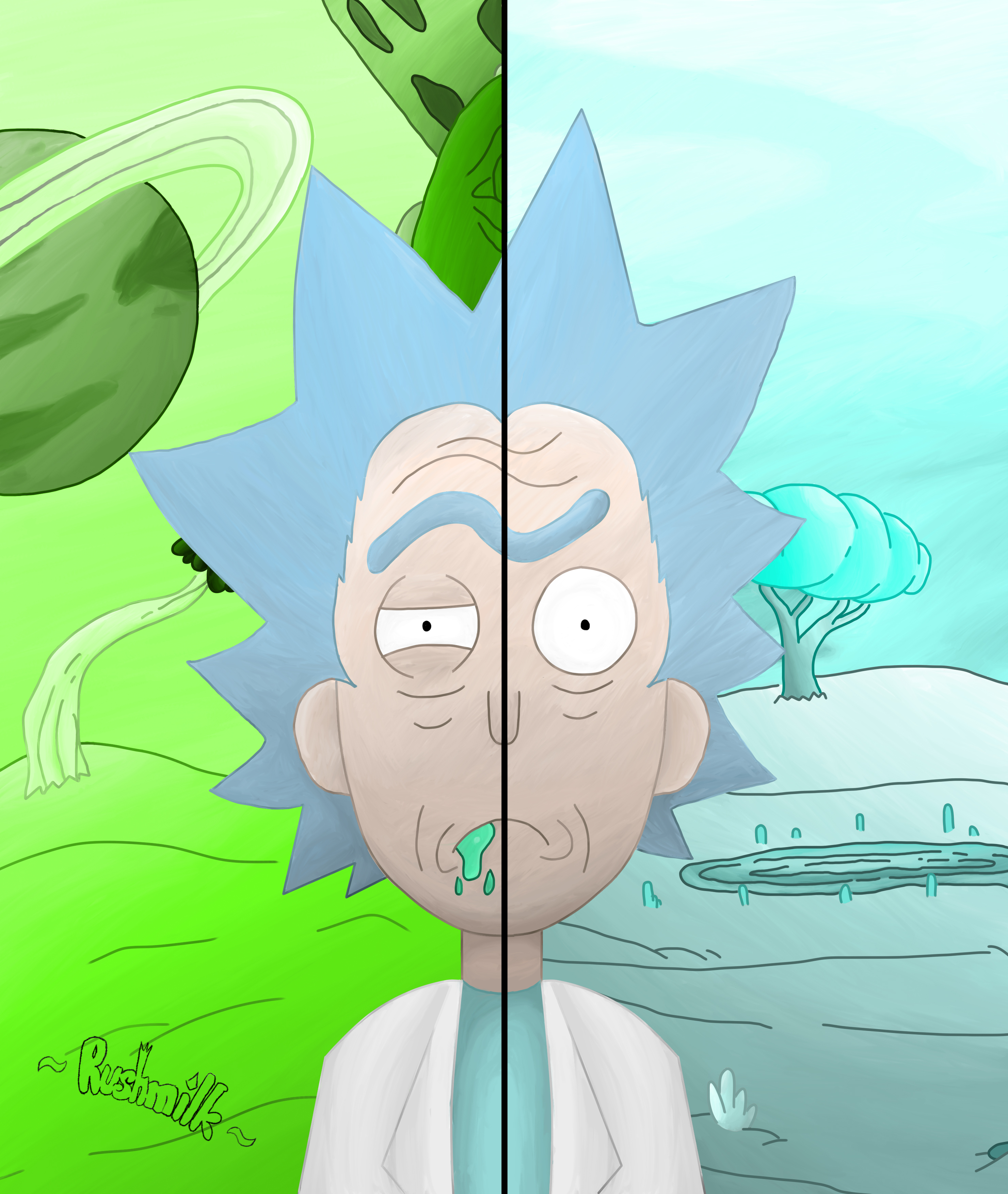 The Two Sides of Rick