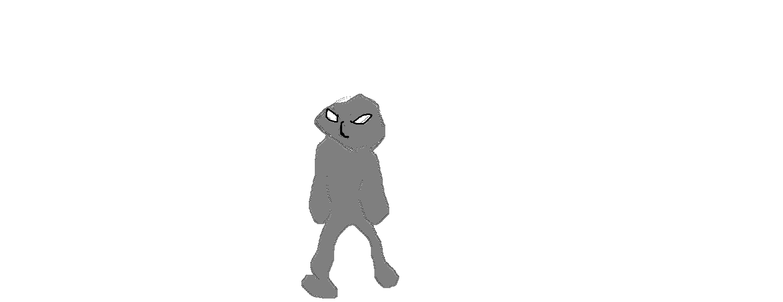 My mascot drawn in MS Paint
