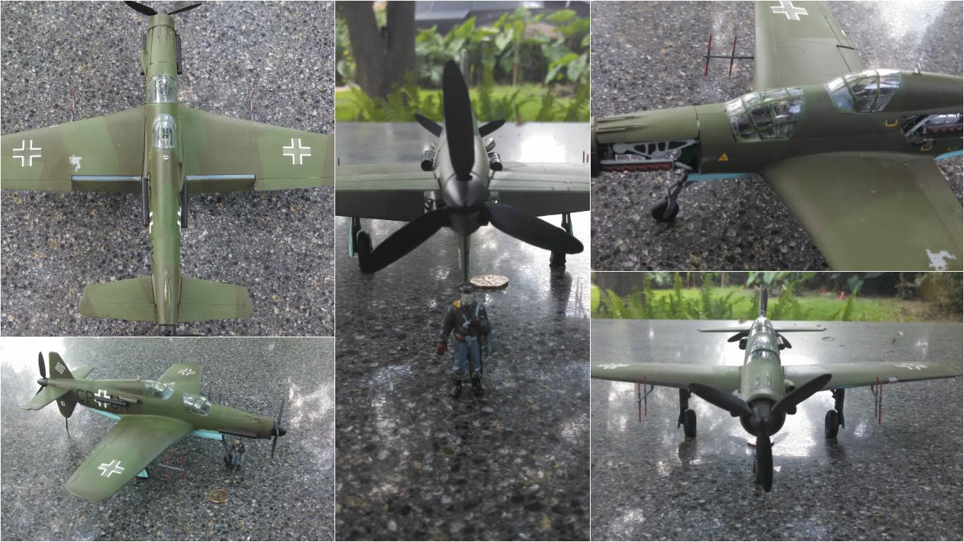1/48 Revell Do-335 Arrow