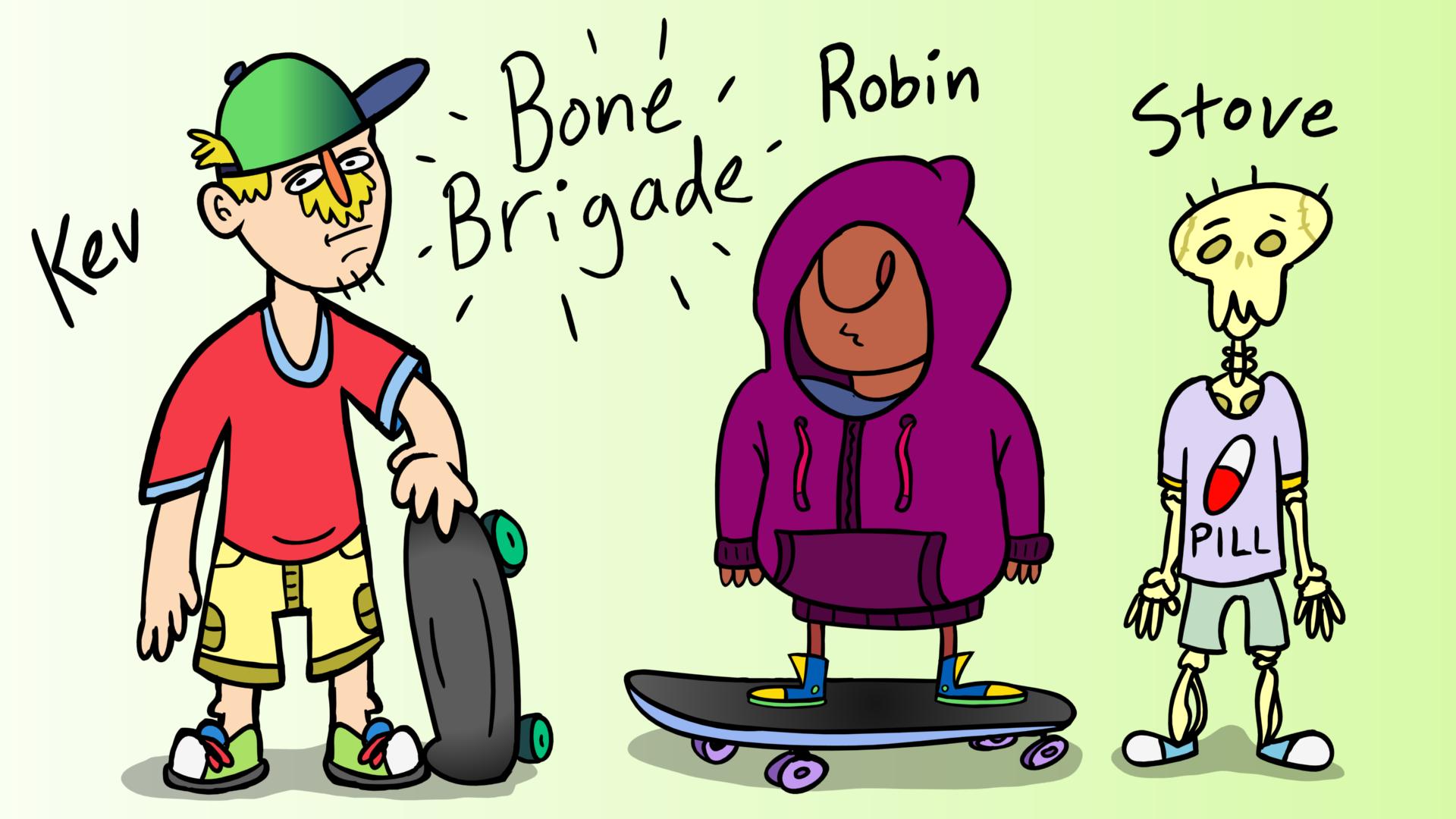 ACME Elixirs - Character Designs - Part 5 (Bone Brigade)