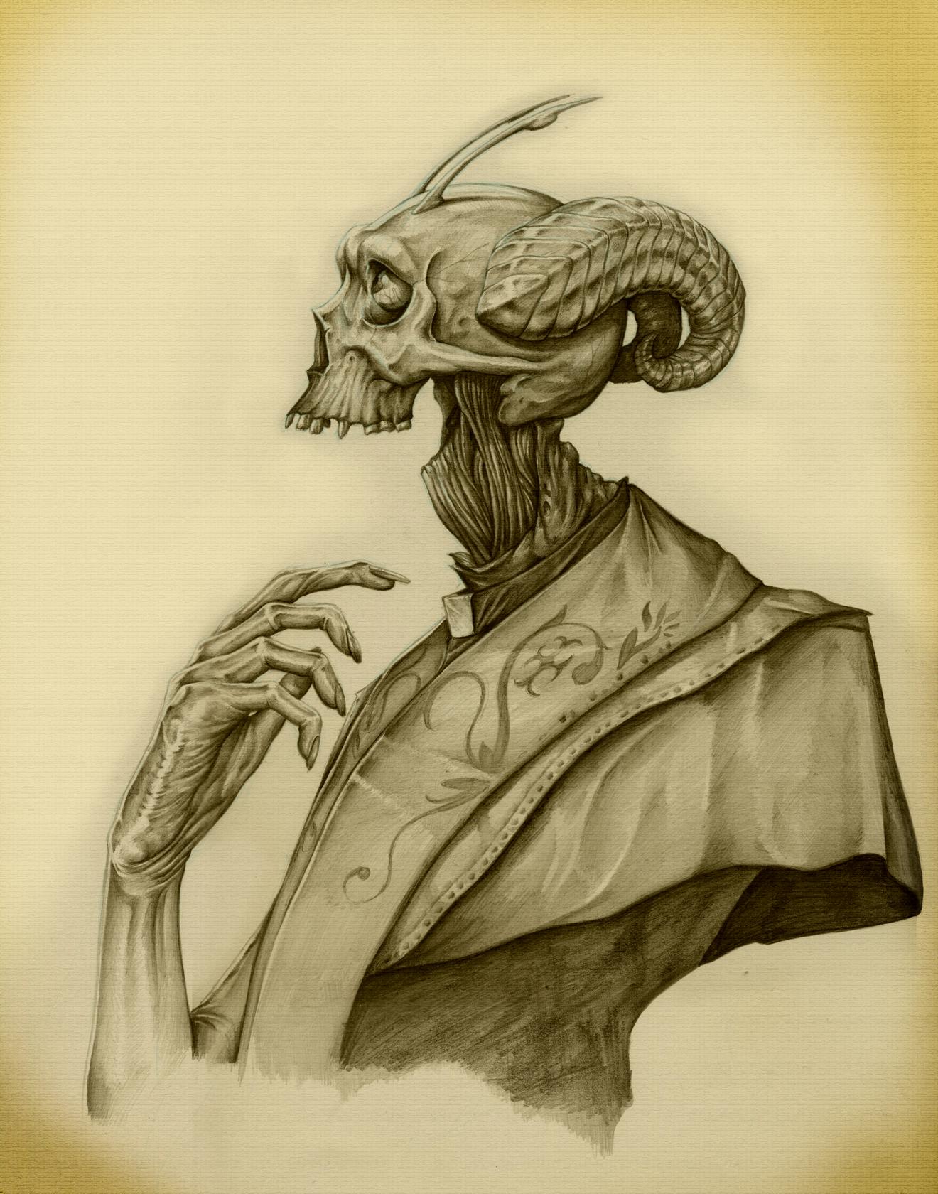 Bone Priest Portrait