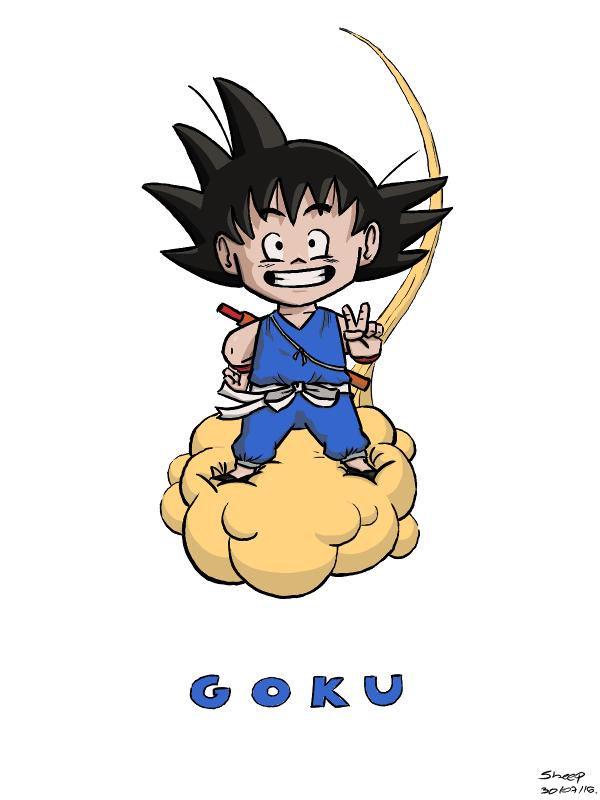 Daily 001 (1/3): Goku