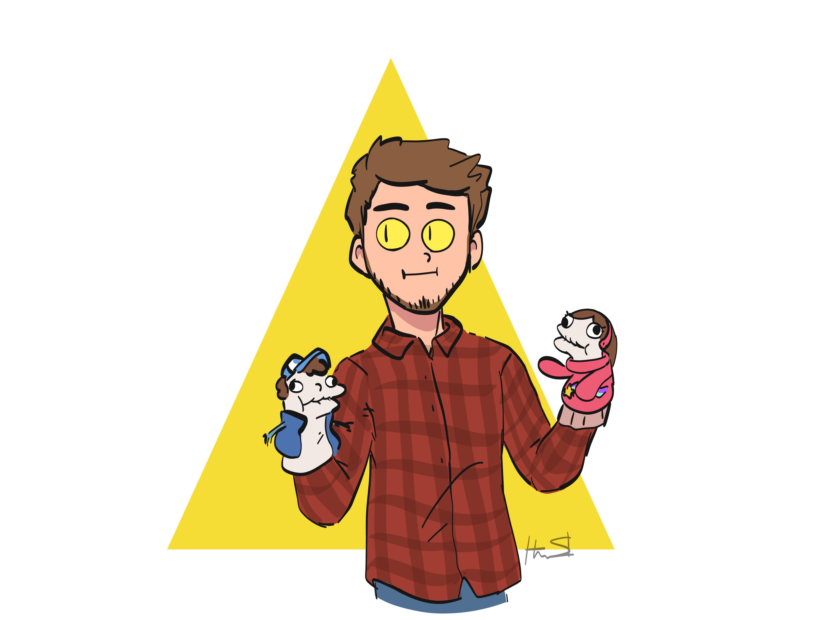 Bill's Favorite Puppets
