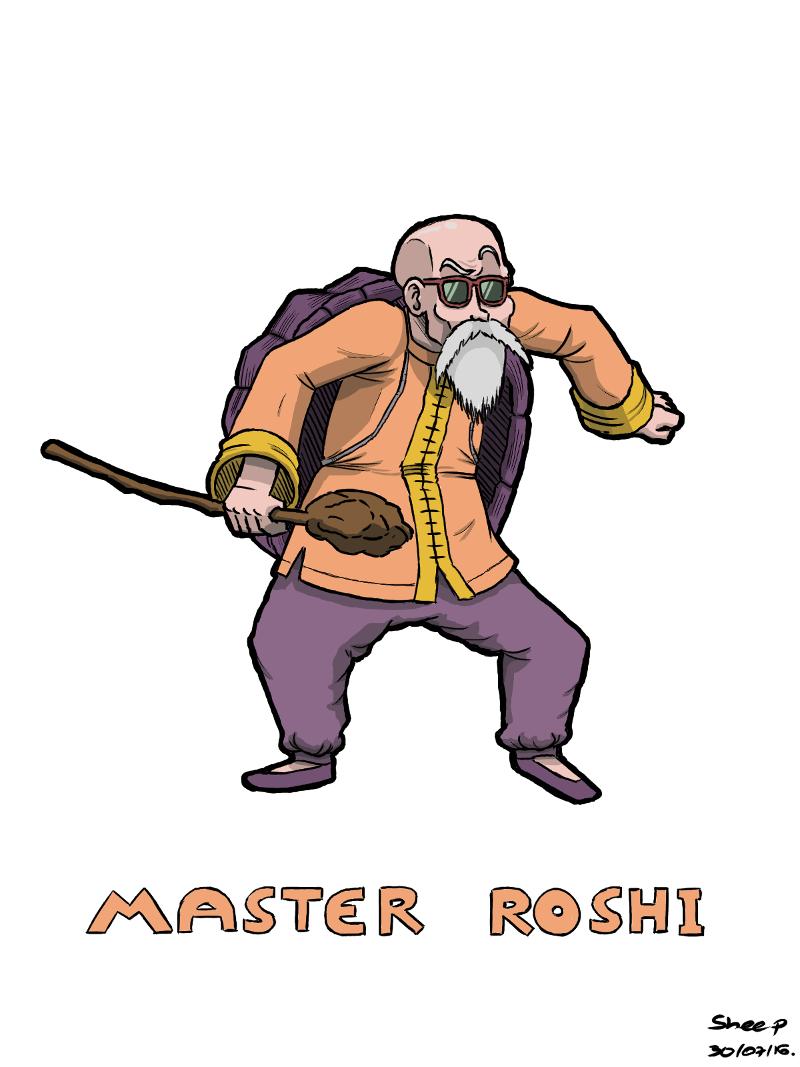 Daily 001 (3/3): Master Roshi (Mestre Kame)
