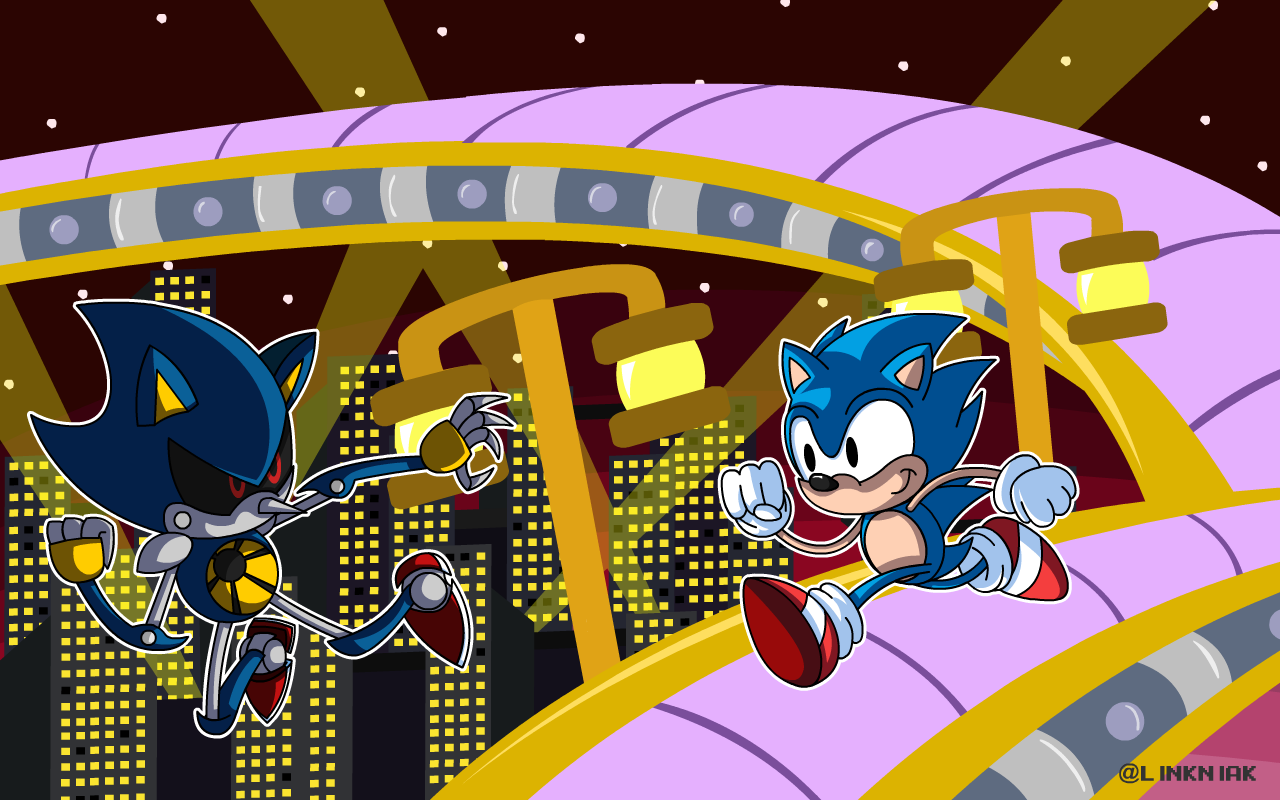 Sonic Vs Metal Sonic By Linkniak On Newgrounds
