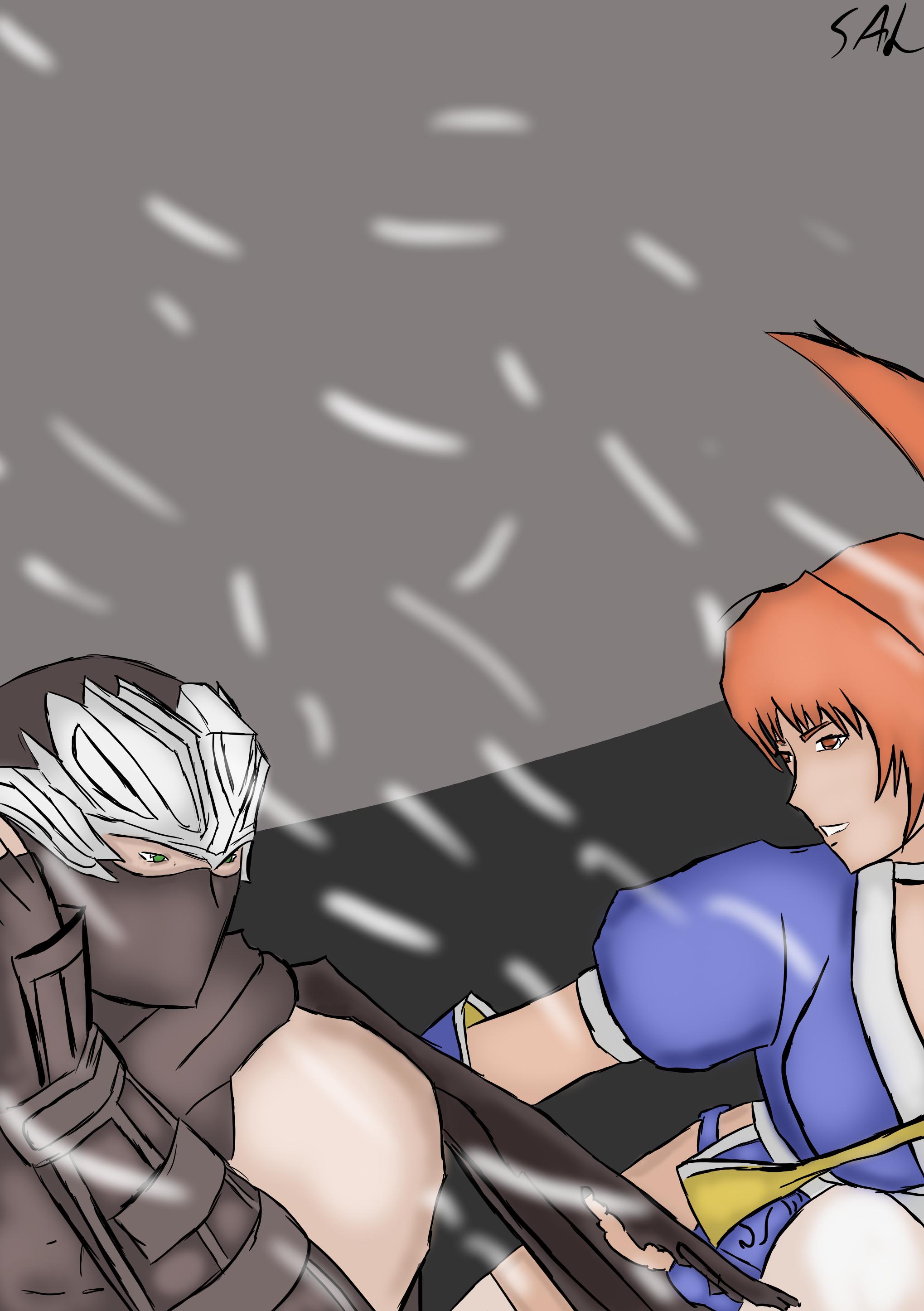 Ryu VS Kasumi